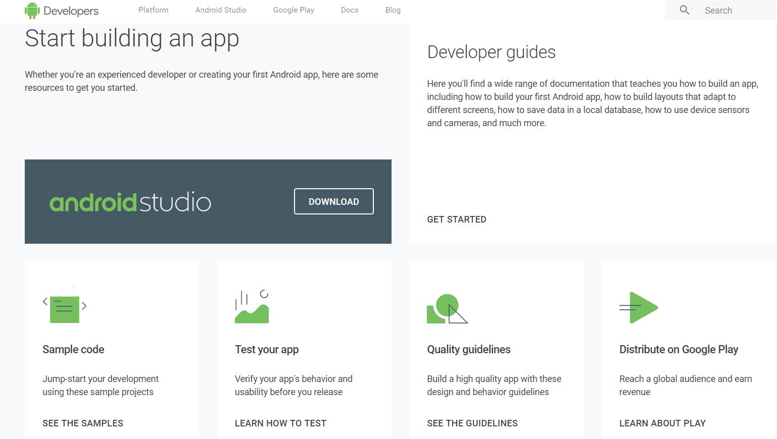 Android's Developer Website Just Got A BIG Makeover